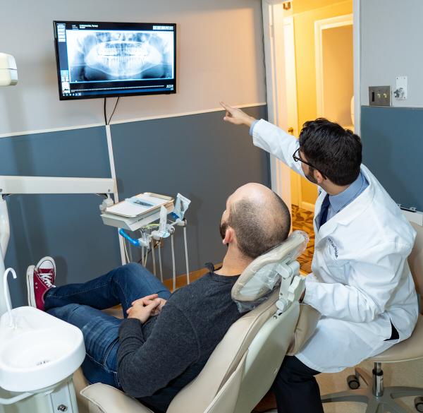 dental x-ray Easton PA dentist